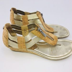 Donald Pliner cork sandals